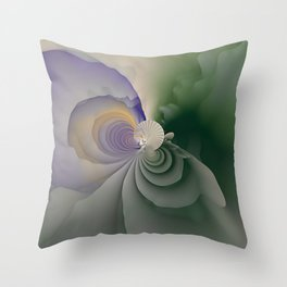 Fanned Out Throw Pillow