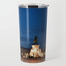 Lisbon Night Travel Mug