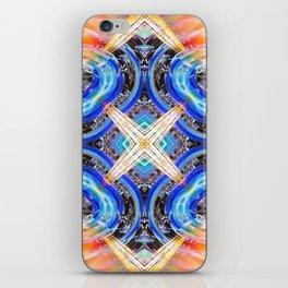 The Diamond Cross iPhone Skin