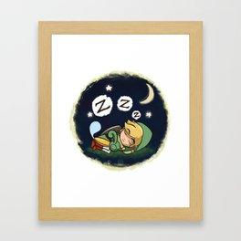 Minish-Nap Framed Art Print