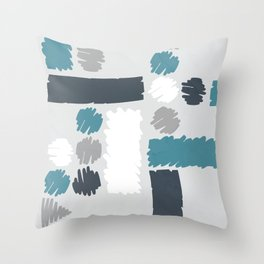 abstractivity emotion Throw Pillow