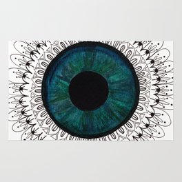 Eye of Cecile  Rug