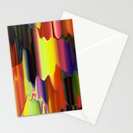 Dripping Paint Stationery Cards