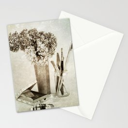 Still life for painter Stationery Cards