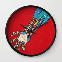 Robot Stress Wall Clock