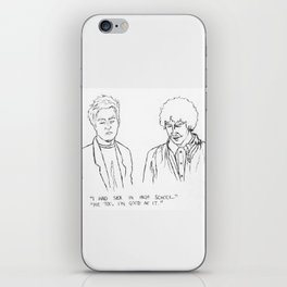 Friends quote iPhone Skin