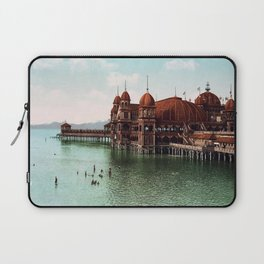 Saltair Pavilion, Great Salt Lake, Utah Laptop Sleeve