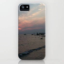 West Neck Sunset iPhone Case