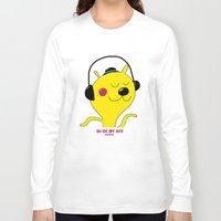 dj Long Sleeve T-shirts featuring dj by Sucoco