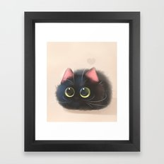 Fluffy Sushi Framed Art Print
