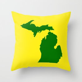 Michigan Football Throw Pillow