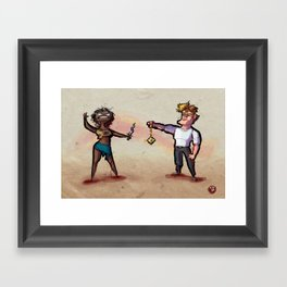 Use Verb on Noun #24: Gabriel Knight Framed Art Print