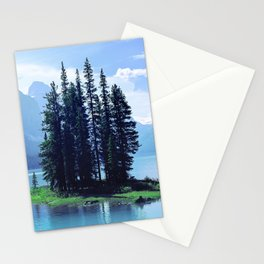 Canadian Scenic: Spirit Island Close-Up Stationery Cards