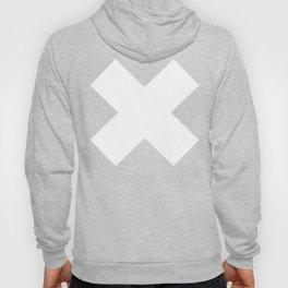 X WHITE Hoody