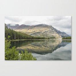 Where the Bears Roam - Many Glacier - Glacier NP Canvas Print