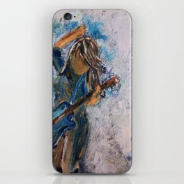 rock and roll goddess iPhone Skin