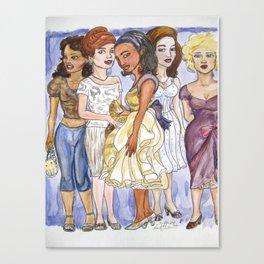 Clique Bait Canvas Print