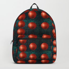 SHINY RED GOLFBALLS Backpack