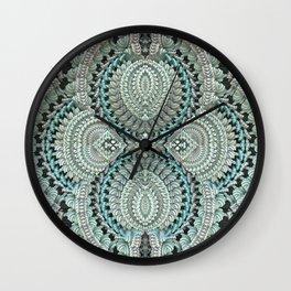 Lace Doily Wall Clock