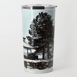 Gazebo on the Lake Travel Mug