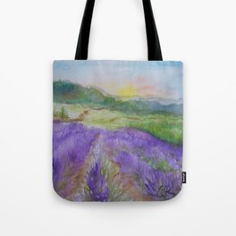 An Evening in Provence WC150601-12 Tote Bag