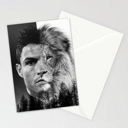 Cristiano Ronaldo Beast Mode Stationery Cards