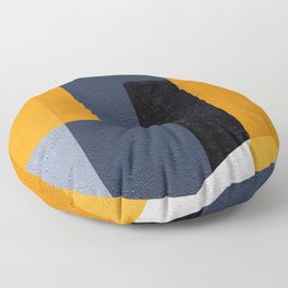 Abstract Geometric Space 1 Floor Pillow