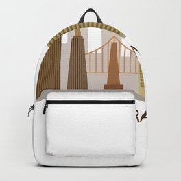 san francisco skyline Backpack