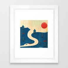 Qu'Appelle River Framed Art Print