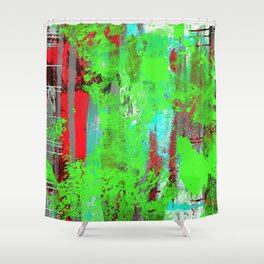 Colour Injection I Shower Curtain