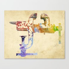 Industrial Clamp Canvas Print
