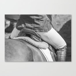 Horse Jumping 2 Canvas Print