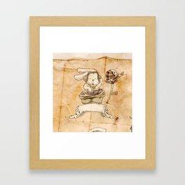 HEAD HUNTING- III Framed Art Print