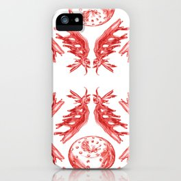 In Vitro Meat Pattern I iPhone Case