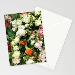 Orange Tea Rose Stationery Cards