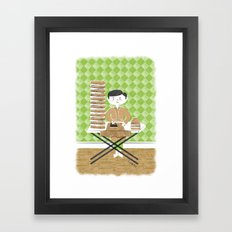 No Rest for the Weary Framed Art Print