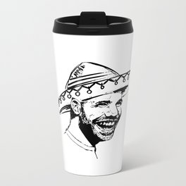 Drake in Sombrero Metal Travel Mug