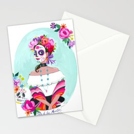 Day of the Dead - Blue Stationery Cards