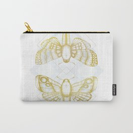 Polillas - Gold Carry-All Pouch