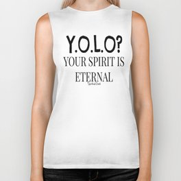 Y.O.L.O? Eternal Spirit Biker Tank
