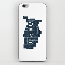 U S of A iPhone Skin