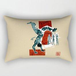 Capoeira 554 Rectangular Pillow