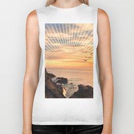 Californian sunset - Graphic sunset Biker Tank