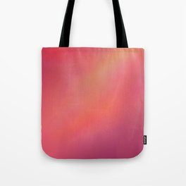 Red Blurred Tote Bag