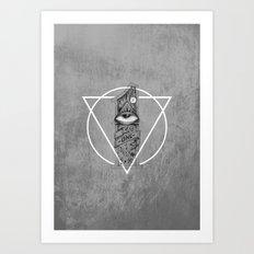 One Eyed Art Print