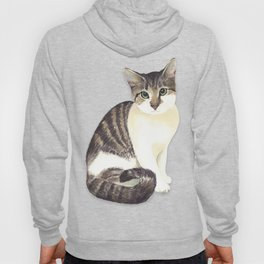 Charming the fat cat that likes to eat a lot Hoody