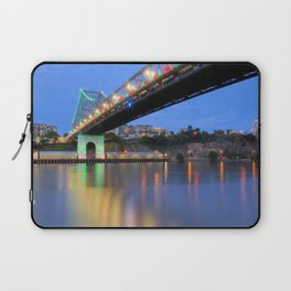 Christmas Bridge Laptop Sleeve
