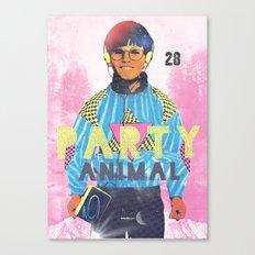 Party Animal Canvas Print