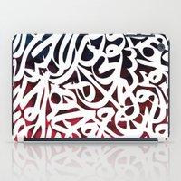 arabic iPad Cases featuring Arabic Typography by Sarah Sallam