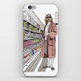Jeffrey Lebowski and Milk. iPhone Skin